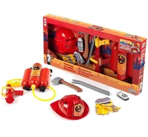 2 x KLEIN Fire Fighter Henry 7pc Toy Fir