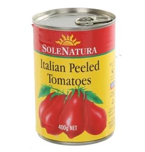 12 x SOLENATURA Italian Peel Tomatoes 40