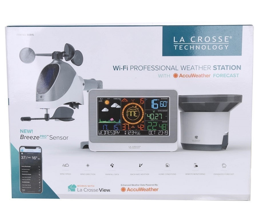 La Crosse Technology C83100 Int Wifi Professional Weather Station Sn Cc47 Auction Graysonline Australia We provide detailed weather forecasts over a 12 day period updated four times a day. la crosse technology c83100 int wifi