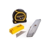 STANLEY 3pc Promo Pack Complete With Retractable Knife, 13 x Spare Knife Bl