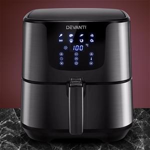 Devanti Air Fryer 7L LCD Oven Airfryer K