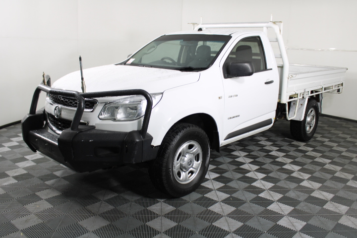 2012 Holden Colorado 4X4 DX RG Turbo Diesel Manual Cab Chassis