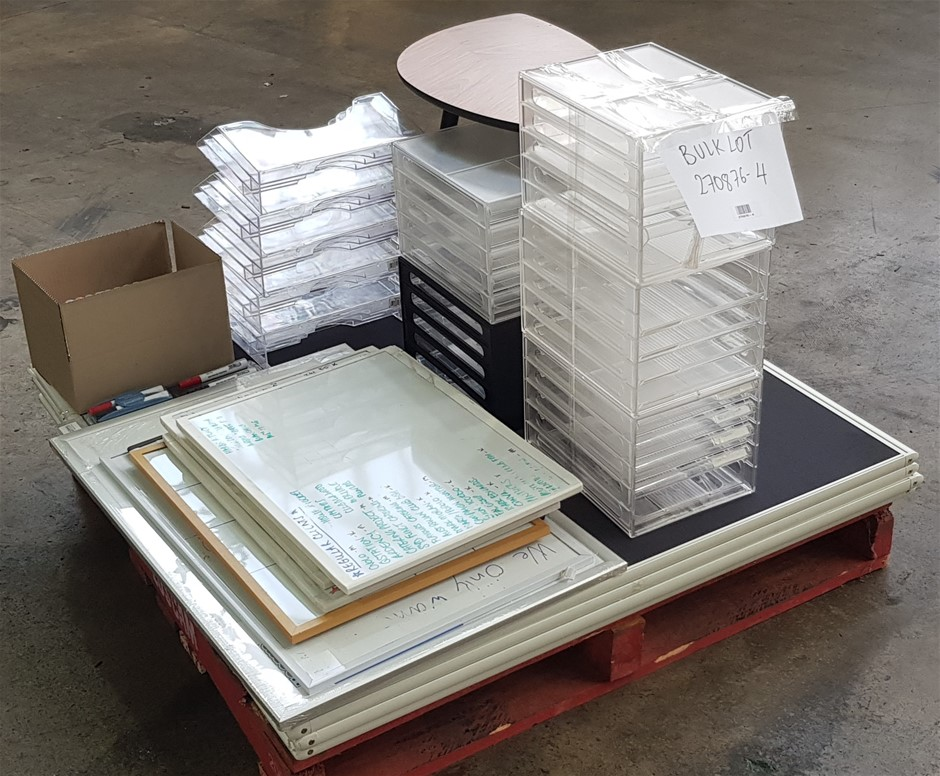 Bulk Lot Of Assorted Office Furniture/ Accessories
