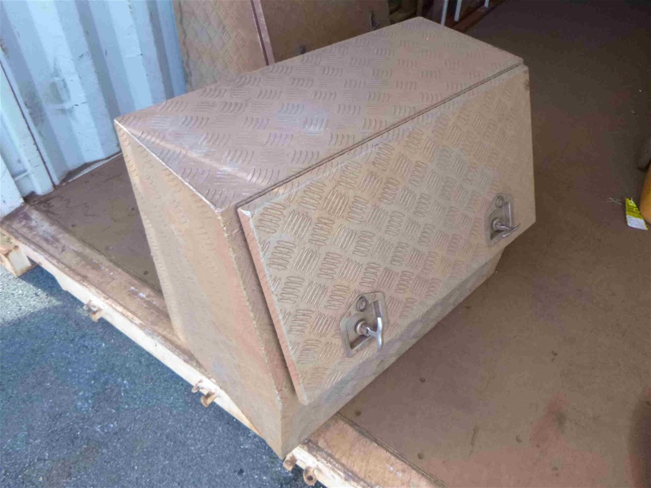 Aluminium UTE Tool Box