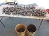 2 Buckets of 25mm Poly Pipe Fittings
