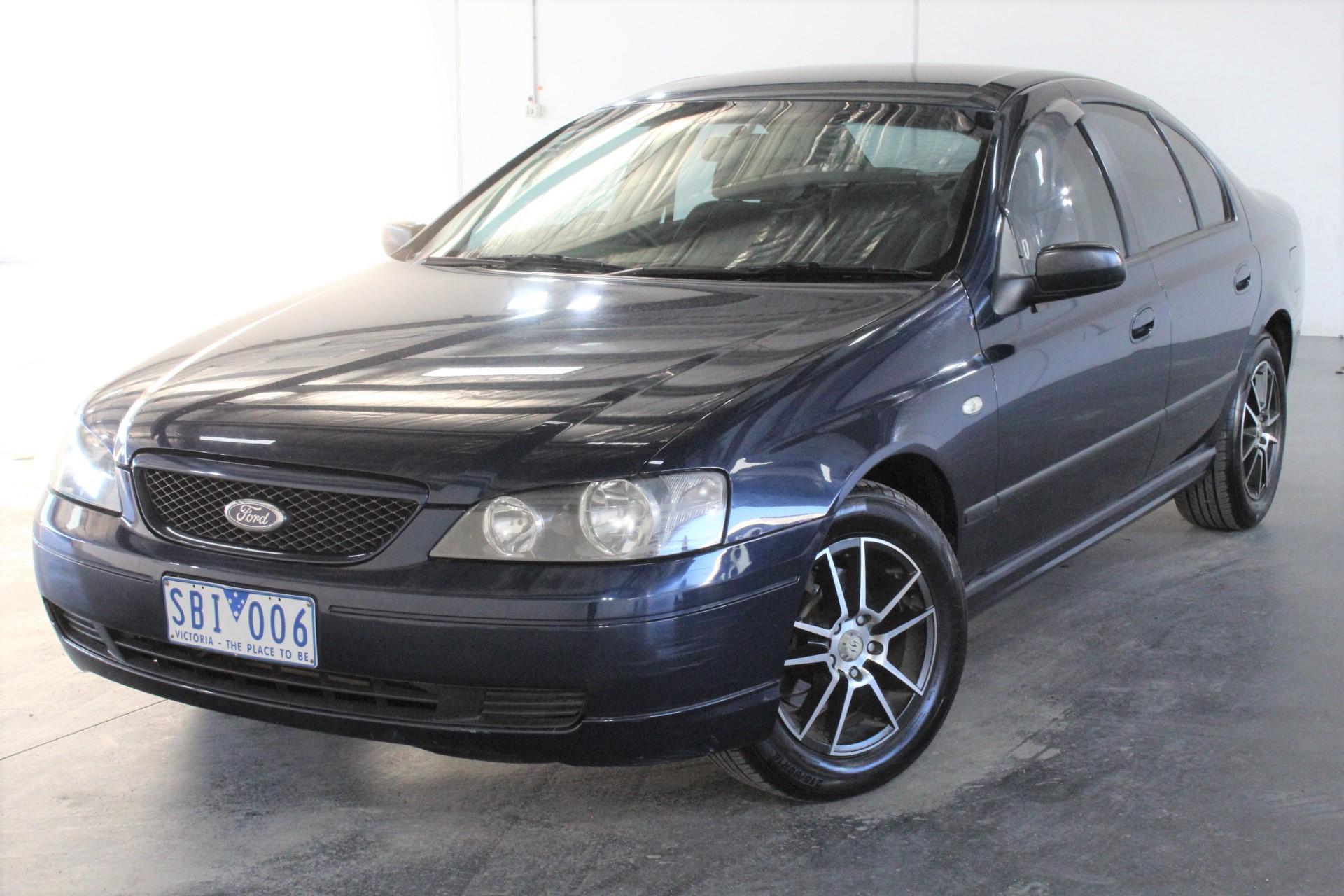 2002 Ford Falcon XT BA Automatic Sedan