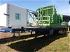 2014 Howard Porter HP 78470 Triaxle Flat Top Trailer