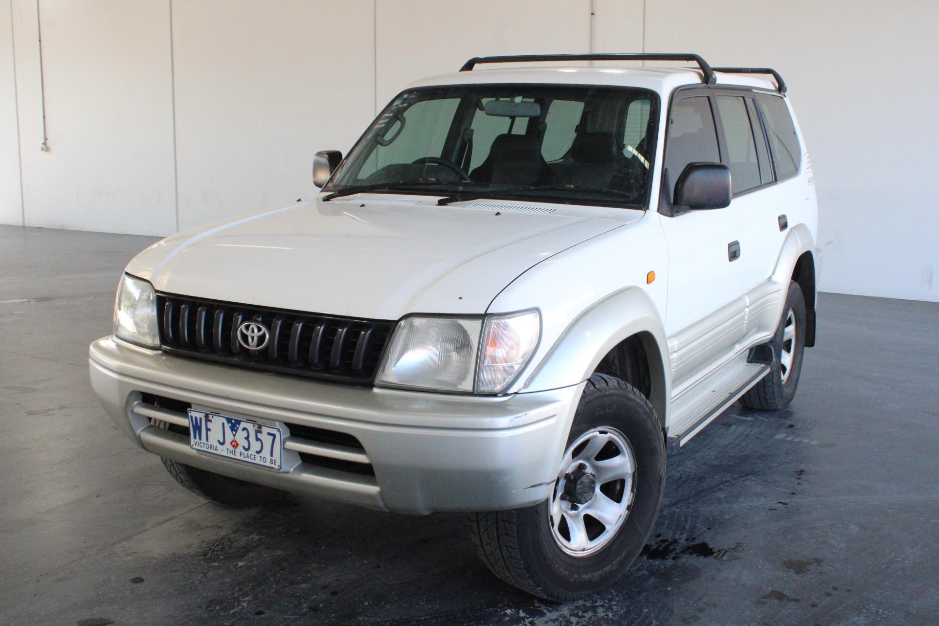 1998 Toyota Landcruiser Prado GXL (4x4) VZJ95R Automatic 7 Seats Wagon