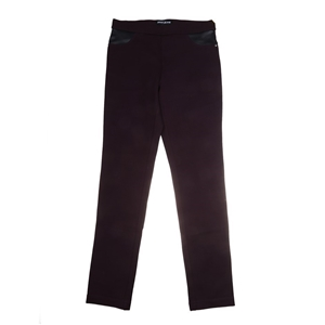 DKNY JEANS Women`s Ponte Pants with Faux