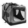 i.Pet Large Portable Soft Pet Carrier- Grey