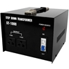 240v 110v Stepdown Transformer Converter 1000w Black