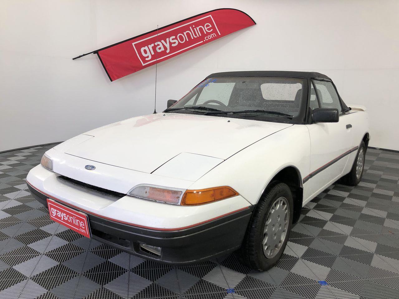 1989 Ford Capri Manual Convertible