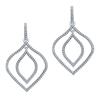 9ct White Gold, 0.32ct Diamond Earring