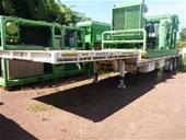 Triaxle Trailers, Vehicles, Test Bench & Air Receivers - NT