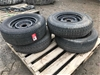 4 x Assorted Light Vehicle Tyres & Rims