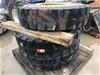 3 x  Rims & Solid Tyres - 12.00R20