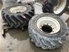 2 X Rims  & Tyres - 16.0/ 70R20