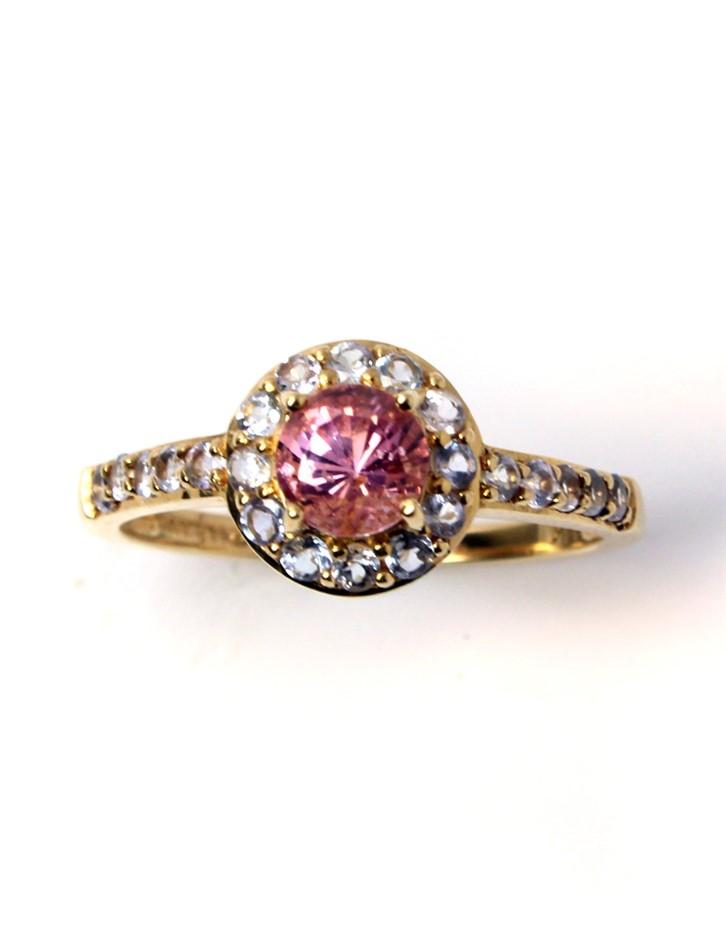 Stunning 18ct Gold Spinel & Tanzanite Ring