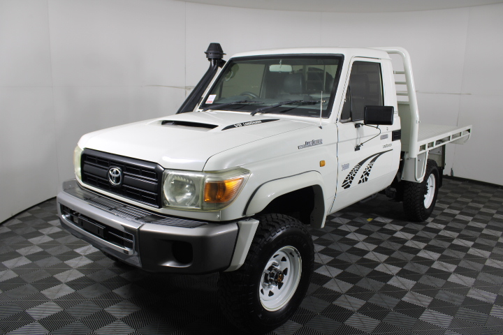 07/2011 Toyota Landcruiser VDJ79R Workmate V8 T/Diesel 5spd 4WD Ute