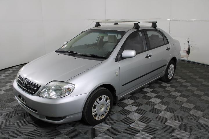 2002 Toyota Corolla Ascent ZZE123R Manual Sedan