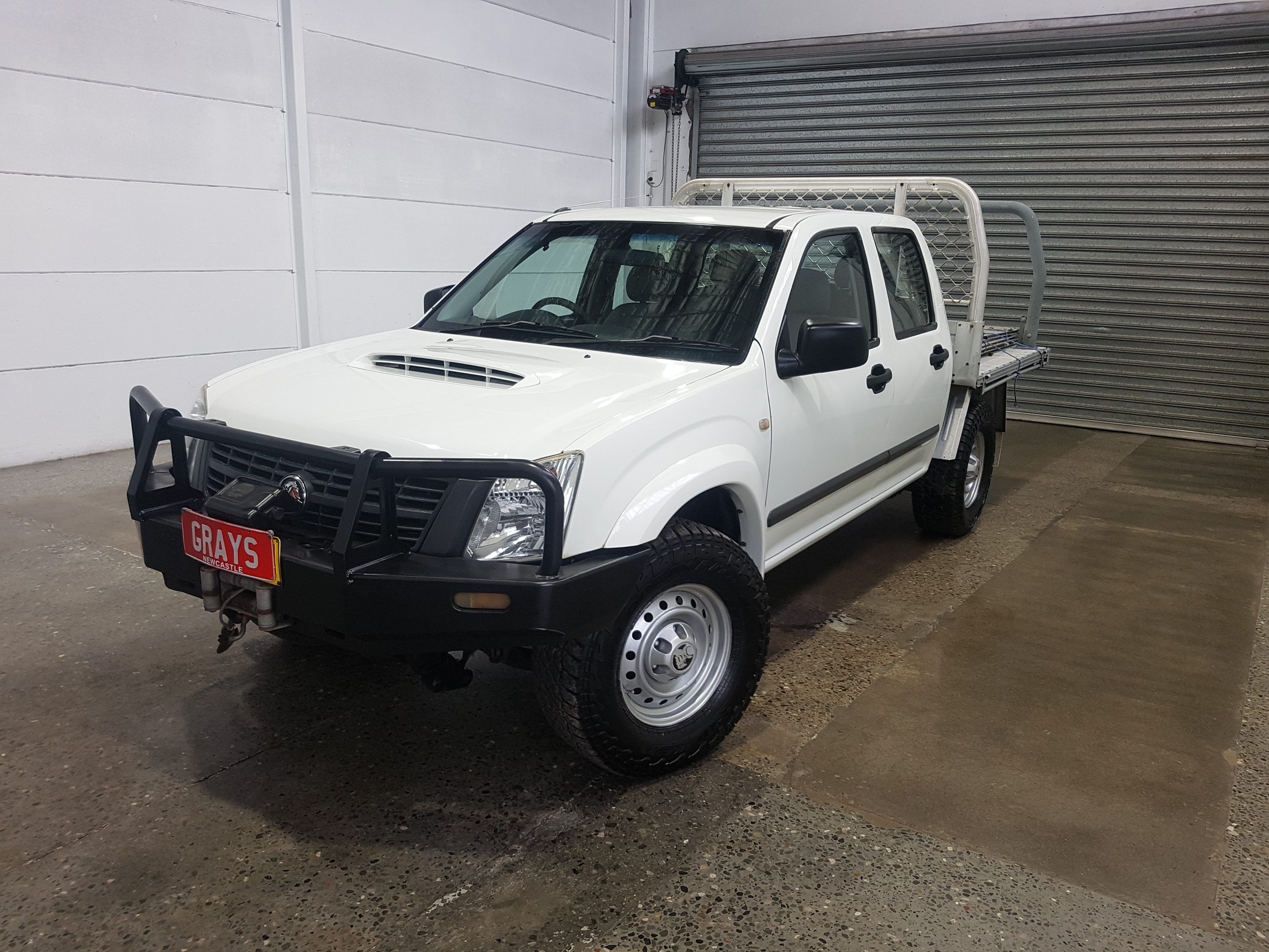 2007 Holden Rodeo LX (4x4) RA Turbo Diesel Manual Dual Cab