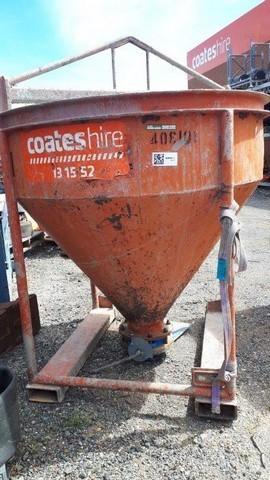 Concrete Skip 1m3 Dual Discharge