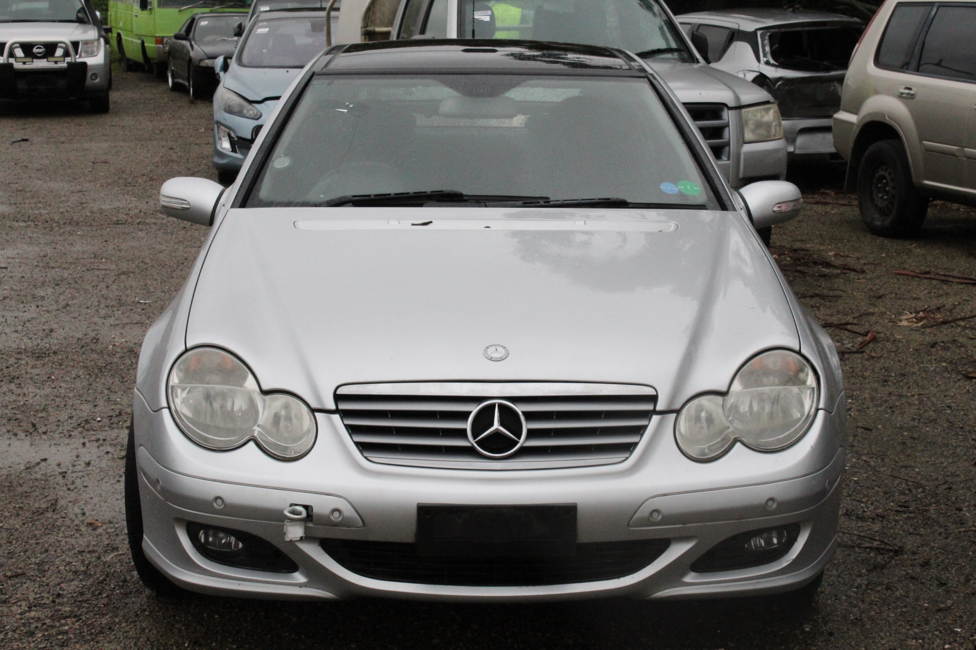 2006 Mercedes Benz C180 C180 Kompressor CL203 Auto Coupe SALVAGE