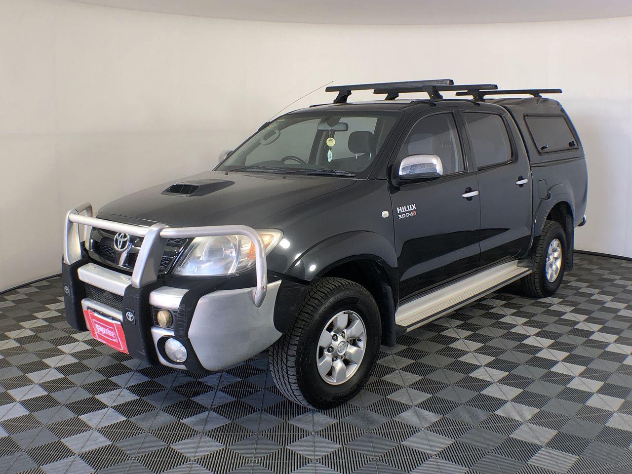 2007 Toyota Hilux SR5 (4x4) KUN26R Turbo Diesel Automatic Dual Cab