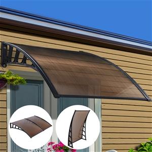 Instahut Window Door Awning Door Canopy
