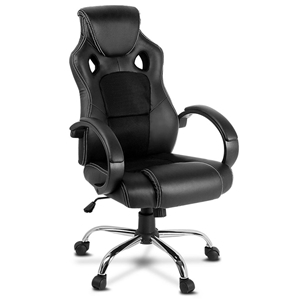 Racing Style PU Leather Office Desk Chai