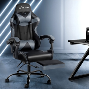 Artiss Office Chair Gaming Chair PU Leat