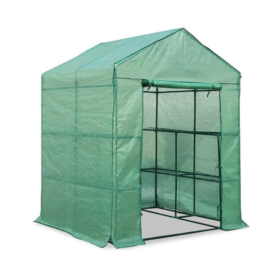 Greenfingers Greenhouse Tunnel 2MX1.55M Garden Shed Storage Plant