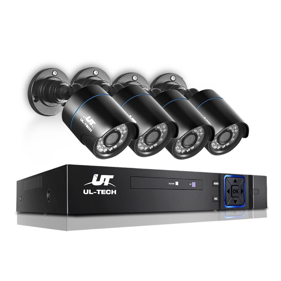 UL-tech CCTV Security System Home Camera DVR 1080P Outdoor Long Range