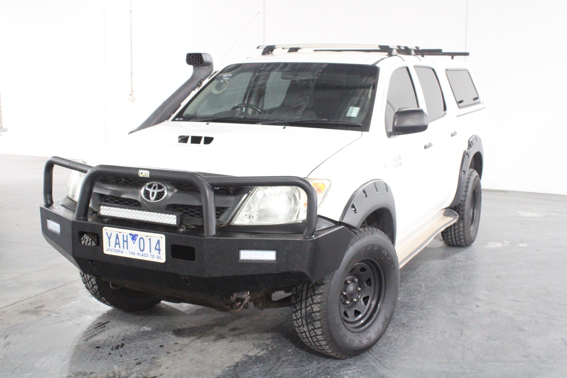 2007 Toyota Hilux SR (4x4) KUN26R Turbo Diesel Automatic Dual Cab
