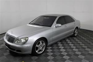 2003 Mercedes Benz S600 L W220 Automatic