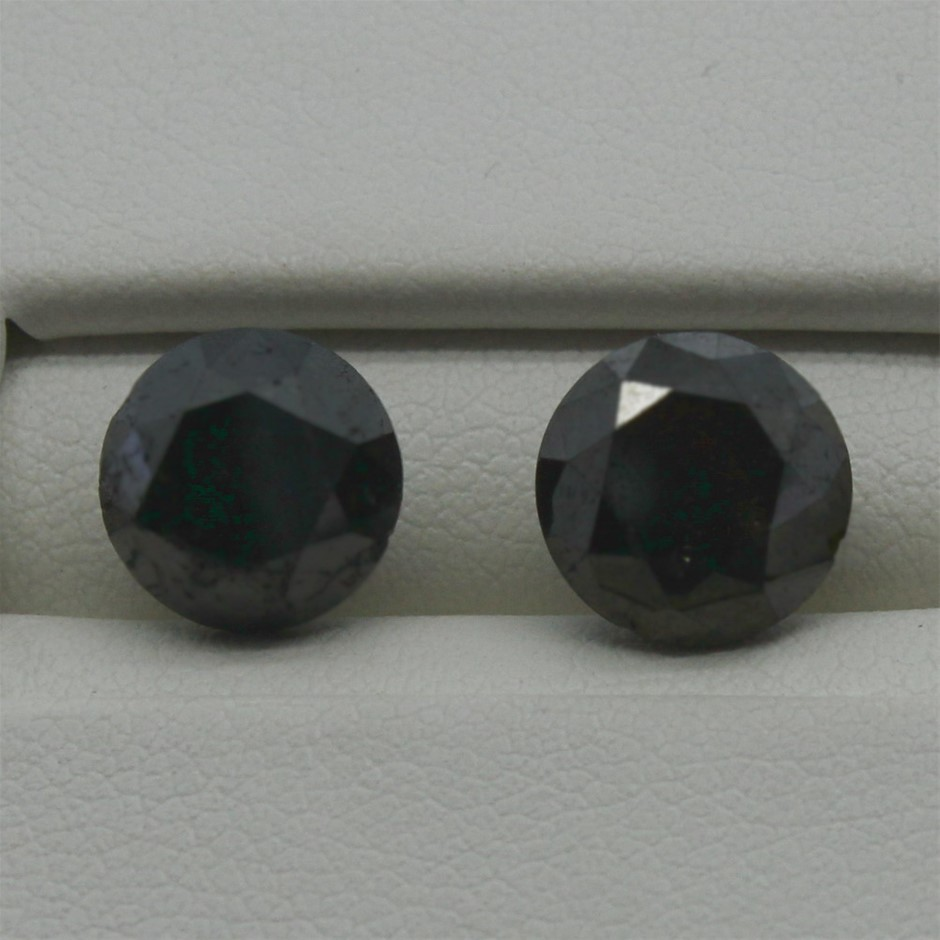 Two Loose Diamond, 3.60ct in Total