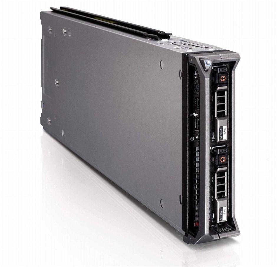 DELL M610 SERVER, 2x X5560, 48GB, 0.9 TB