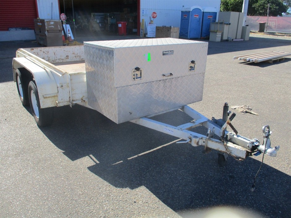 Lacey's Trailers Tandem Trailer