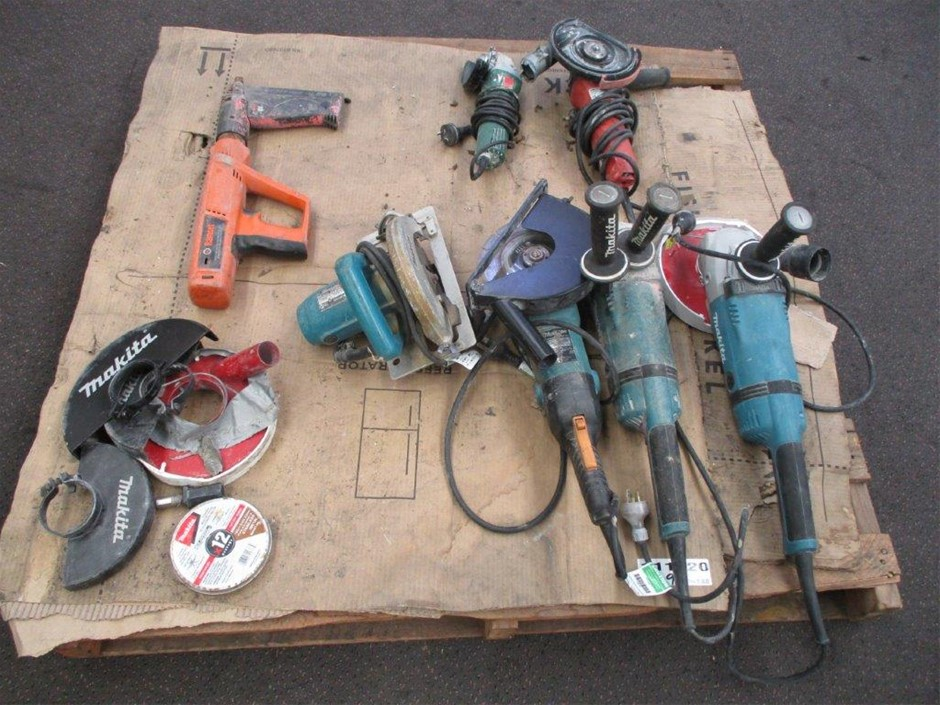 1x Pallet of Various Power Tools