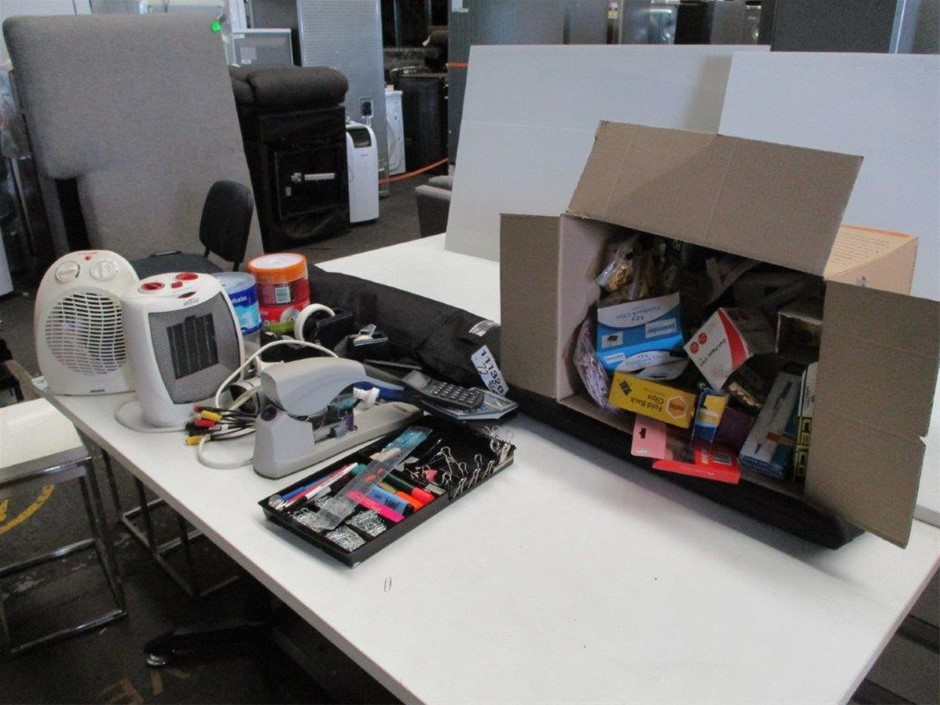 2 Cartons of Office Items and Stationery