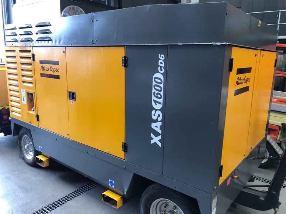 Atlas Copco 1600CFM Diesel Air Compressor