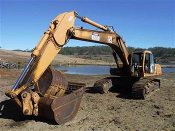 Hyundai Robex 360LC-3 Hydraulic Excavator