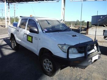 2009 Toyota Hilux SR 4WD Manual - 5 Speed Dual Cab Ute