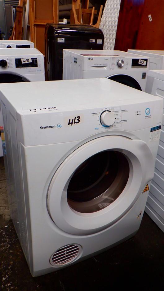 Simpson 5.5kg Vented Dryer SDV556HQWA
