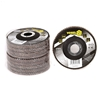 10 x VOREL Flap Discs 115mm, Grit P40. Buyers Note - Discount Freight Rates