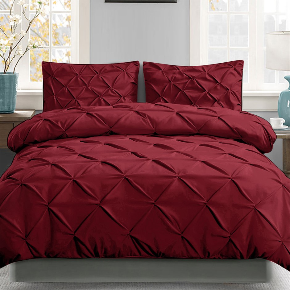 Giselle Luxury Classic Bed Duvet Doona Quilt Cover Set Hotel King