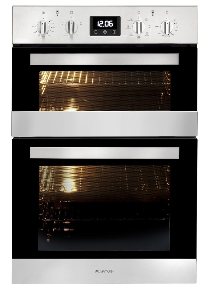 Artusi 60cm Electric Built-In Double Oven (CAO888X-1)