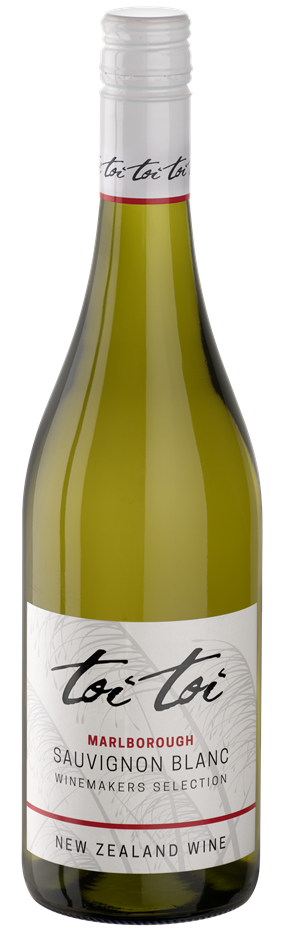Toi Toi Marlborough Sauvignon Blanc Winemakers Selection 2019 (6 x 750mL)