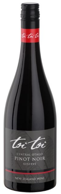 Toi Toi Central Otago Reserve Pinot Noir 2018 (6 x 750mL) NZ