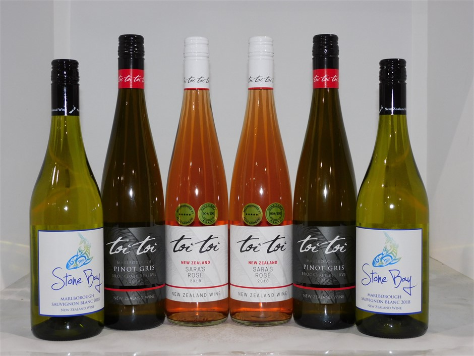 Pack of Assorted New Zeland Wine (6 x 750mL)